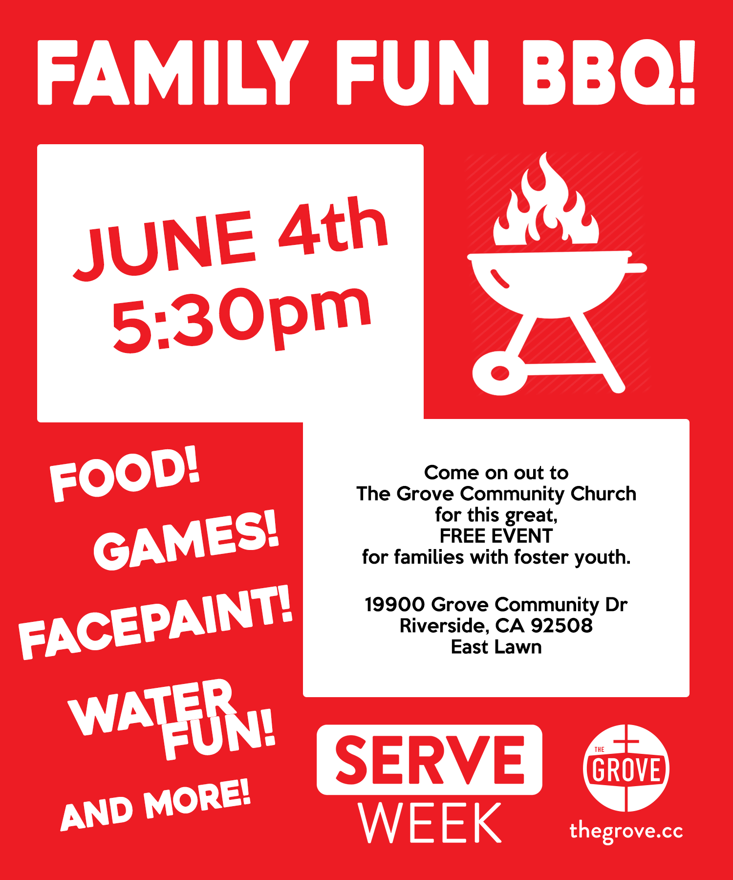 The Grove Community Church Family Fun BBQ
